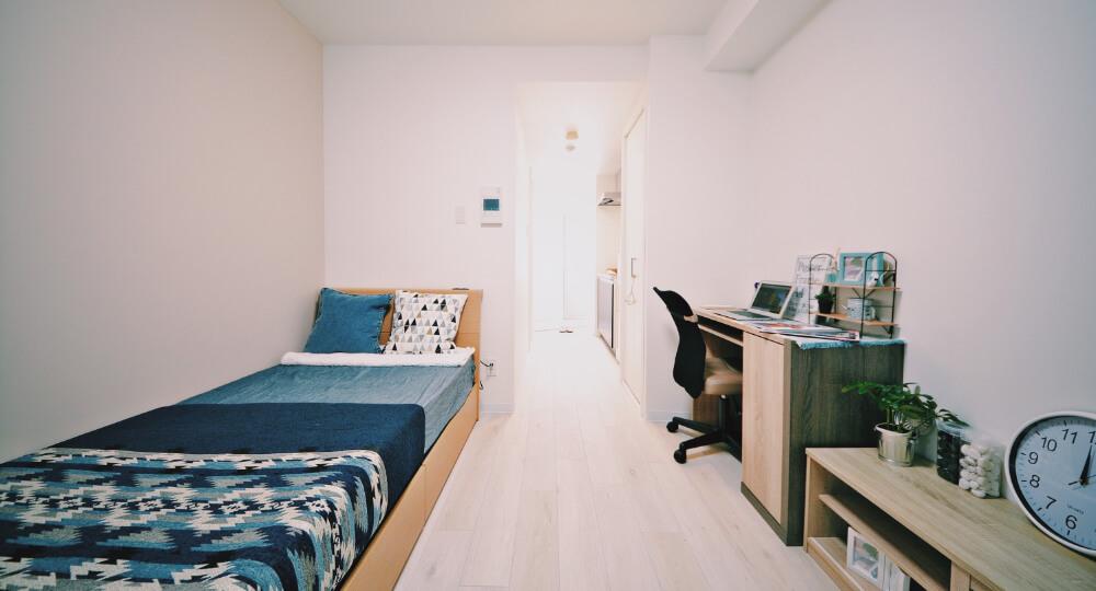 全室おしゃれな家具家電付き!引越し後すぐに新生活がスタートできます。 宅都プロパティ大阪学生向けマンション総合サイト|studentroom
