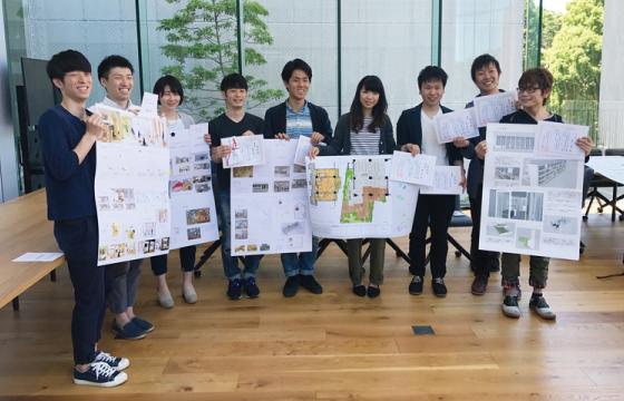 近畿大学建築学部との共同コンペで生まれた学生マンション