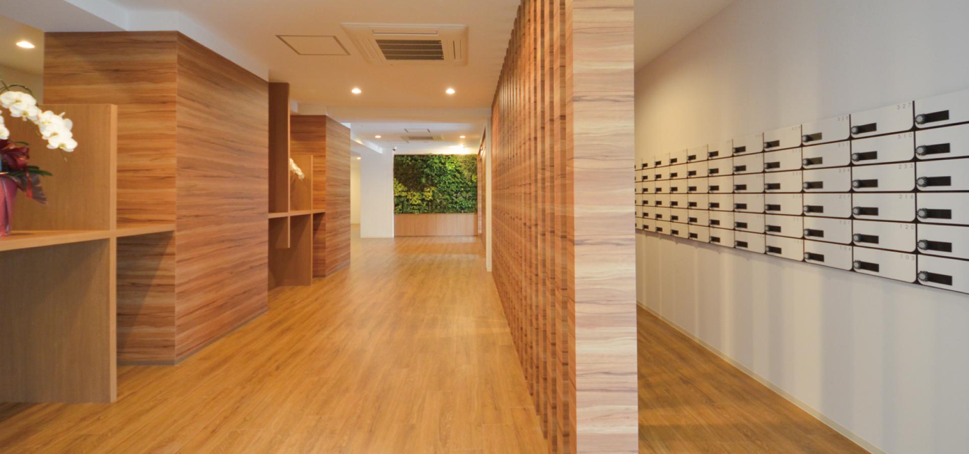 「ティーズカレッジ大阪大学前」各自のメールボックス完備 宅都プロパティ大阪学生向けマンション総合サイト|studentroom