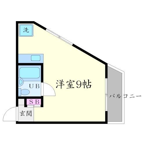 笹川ビルの間取り図