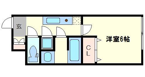 高塚ハウスの間取り図