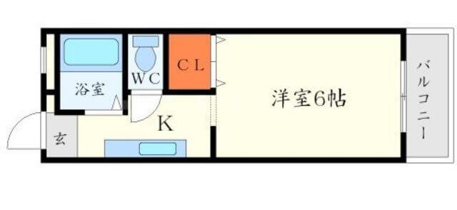 コムズハウス千里中央の間取り図