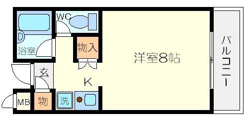 HOUSE2(ハウスツー)の間取り図