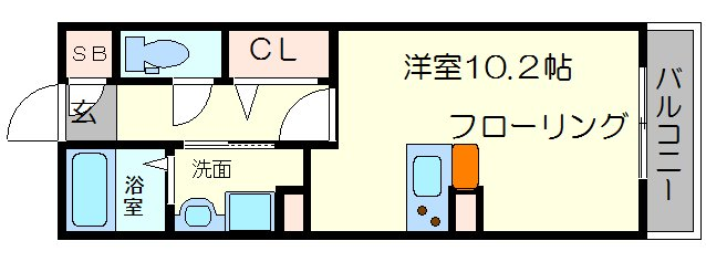 ORCHID POINTの間取り図