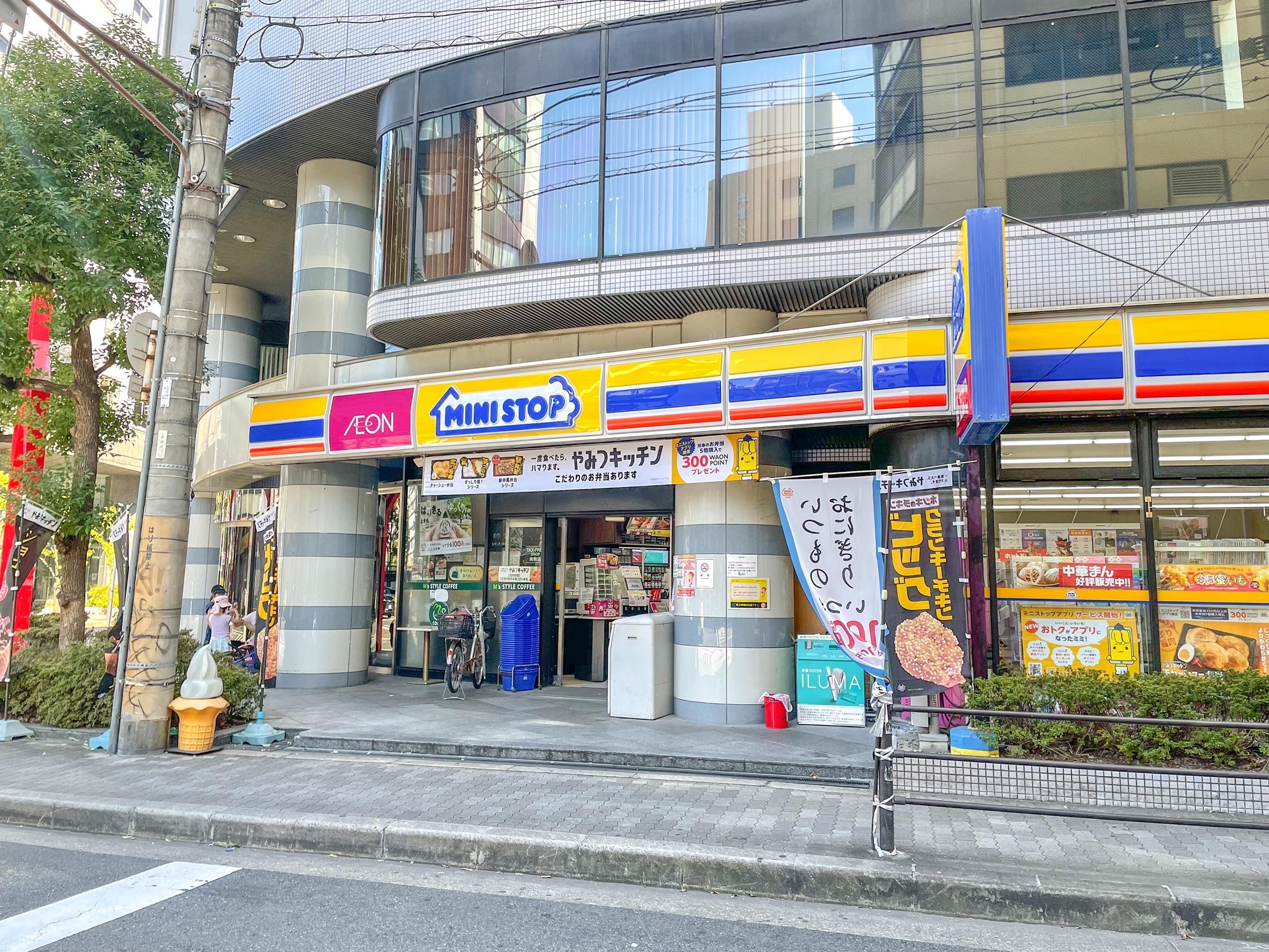 ミニストップ 徒歩3分 宅都プロパティ大阪学生向けマンション総合サイト studentroom